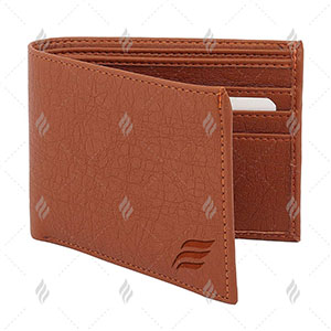 Artificial Leather Men Exclusive High Quality Wallet with Durable Cloth Lining