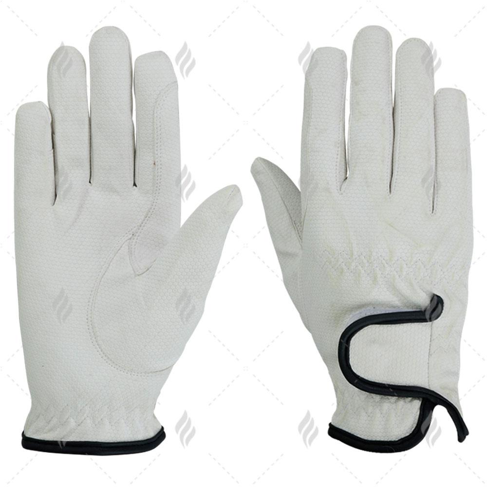 Custom Full Finger Horse Riding Gloves | Best Quality Riding Gloves