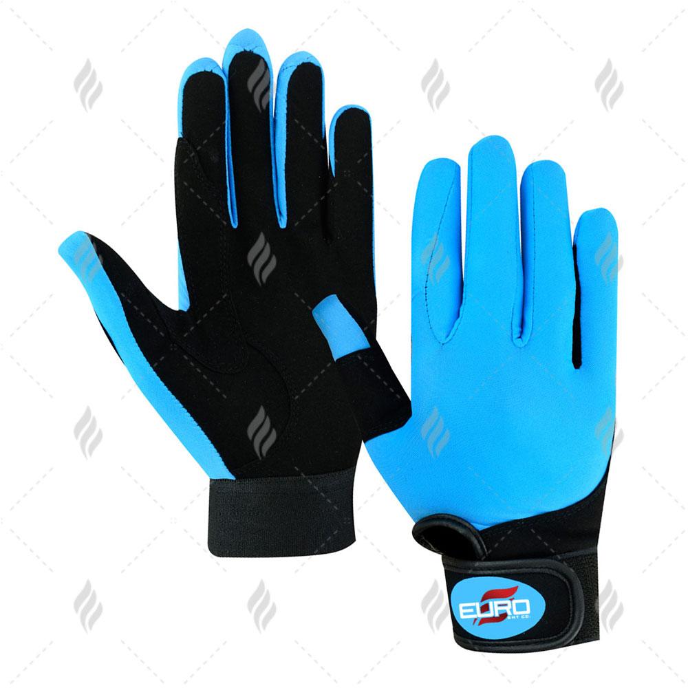 Custom Made Equestrian Gloves | Full Finger Equestrian Riding Gloves