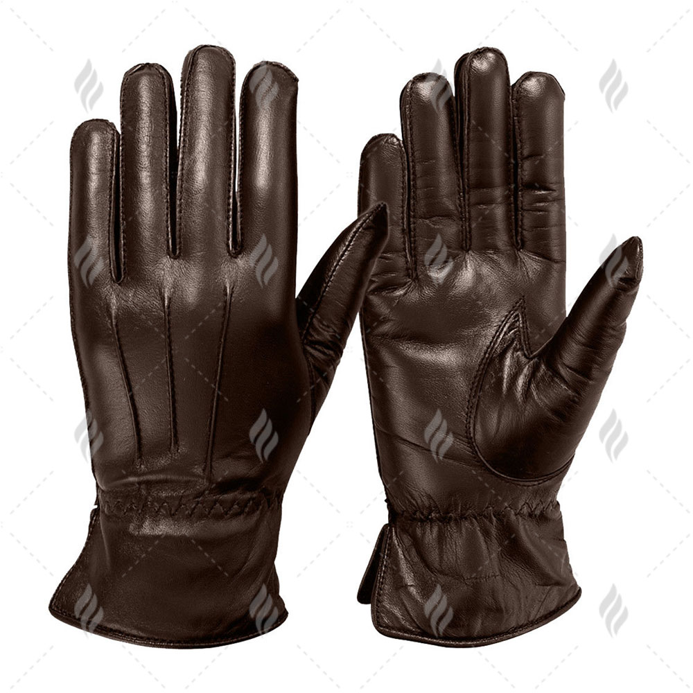 Custom Made Woman Leather Gloves for Fashion Dressing | Women Leather Dressing Gloves