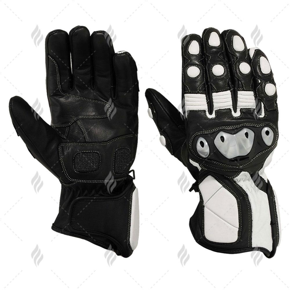 Custom Motorbike Rider Gloves | Motorbike Racing Leather Gloves
