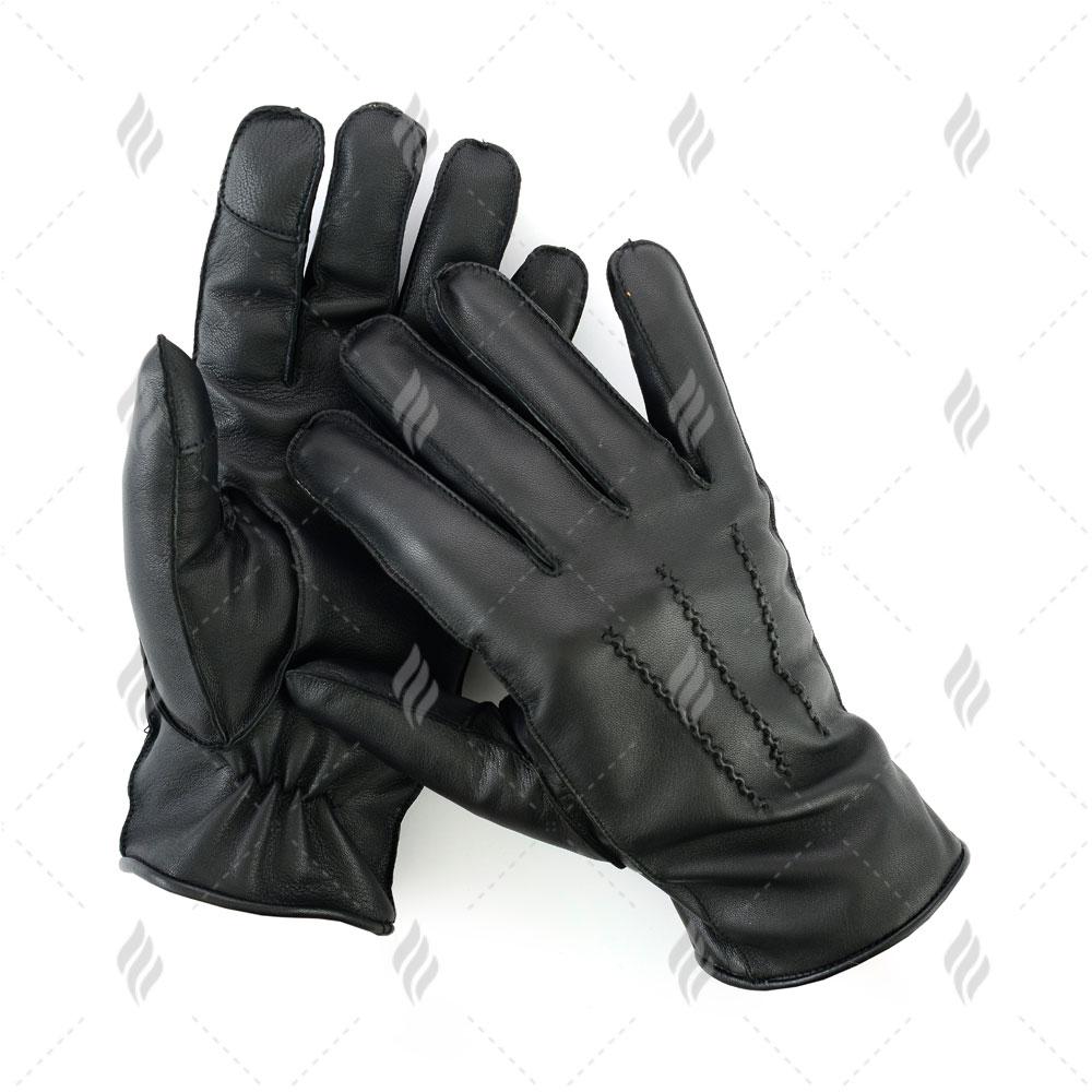 Fashion Lamb Skin Women Dress Gloves | Men Sheepskin Gloves