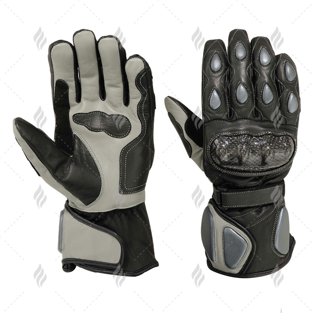 Custom Motorbike Rider Gloves | Motorbike Racing Leather Gloves