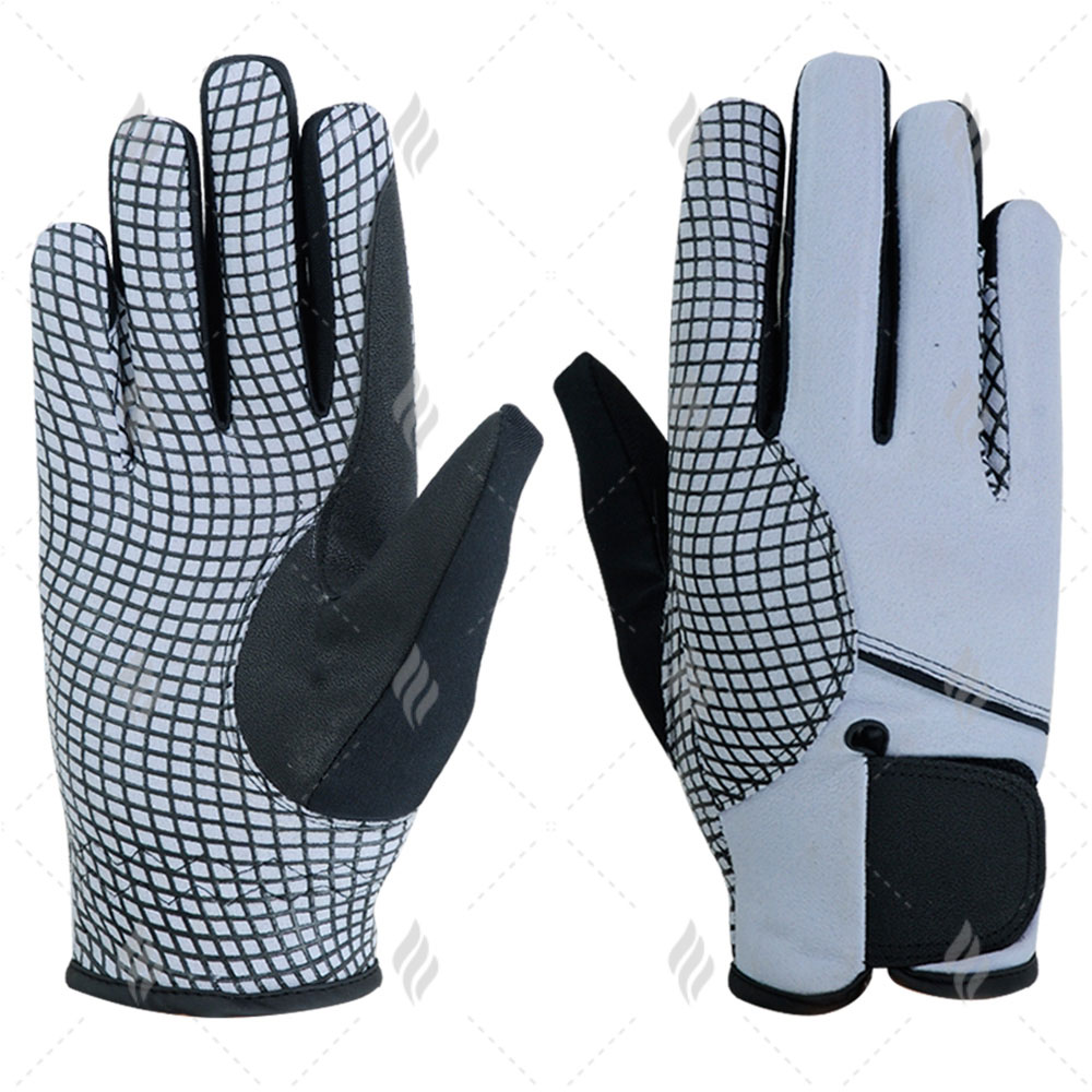 Full Finger Horse Riding Gloves | Customized Horse Riding Gloves