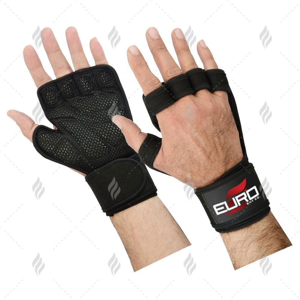 Gym Fitness Equipment Cross fit Gloves | Custom Made Gym Workout Gloves