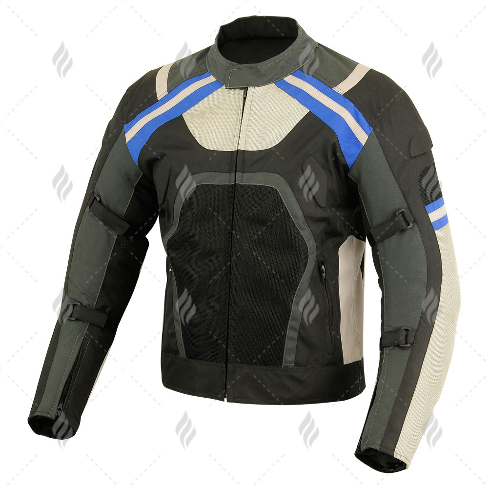 Motorbike Cordura Jacket With Full Protection For Best Ride | Motorbike Cordura Racing Jacket