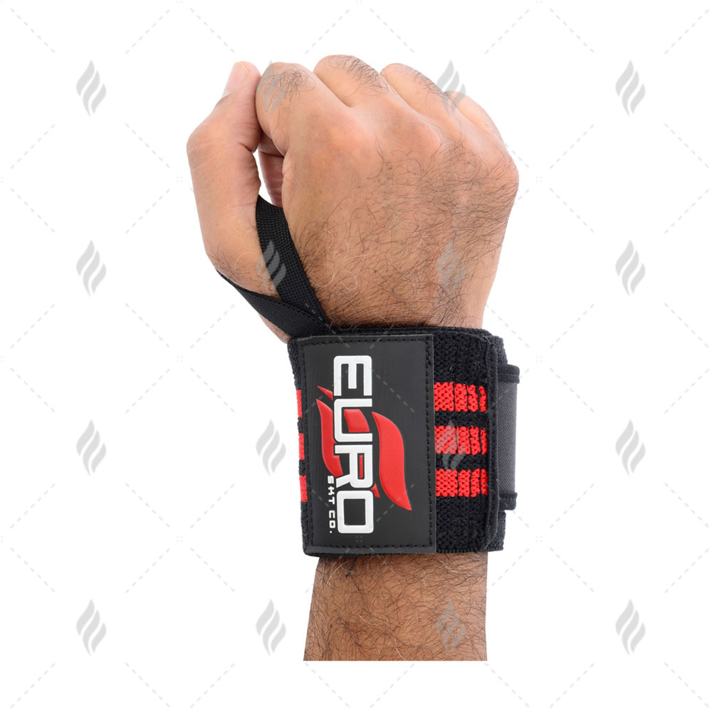Wrist Wraps for Weightlifting | Crossfit | Workout | Gym | Powerlifting | Bodybuilding - Support for both Women & Men
