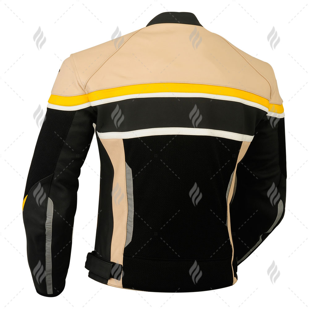 Best Selling Motorbike Leather Racing Jacket For Riding Bike