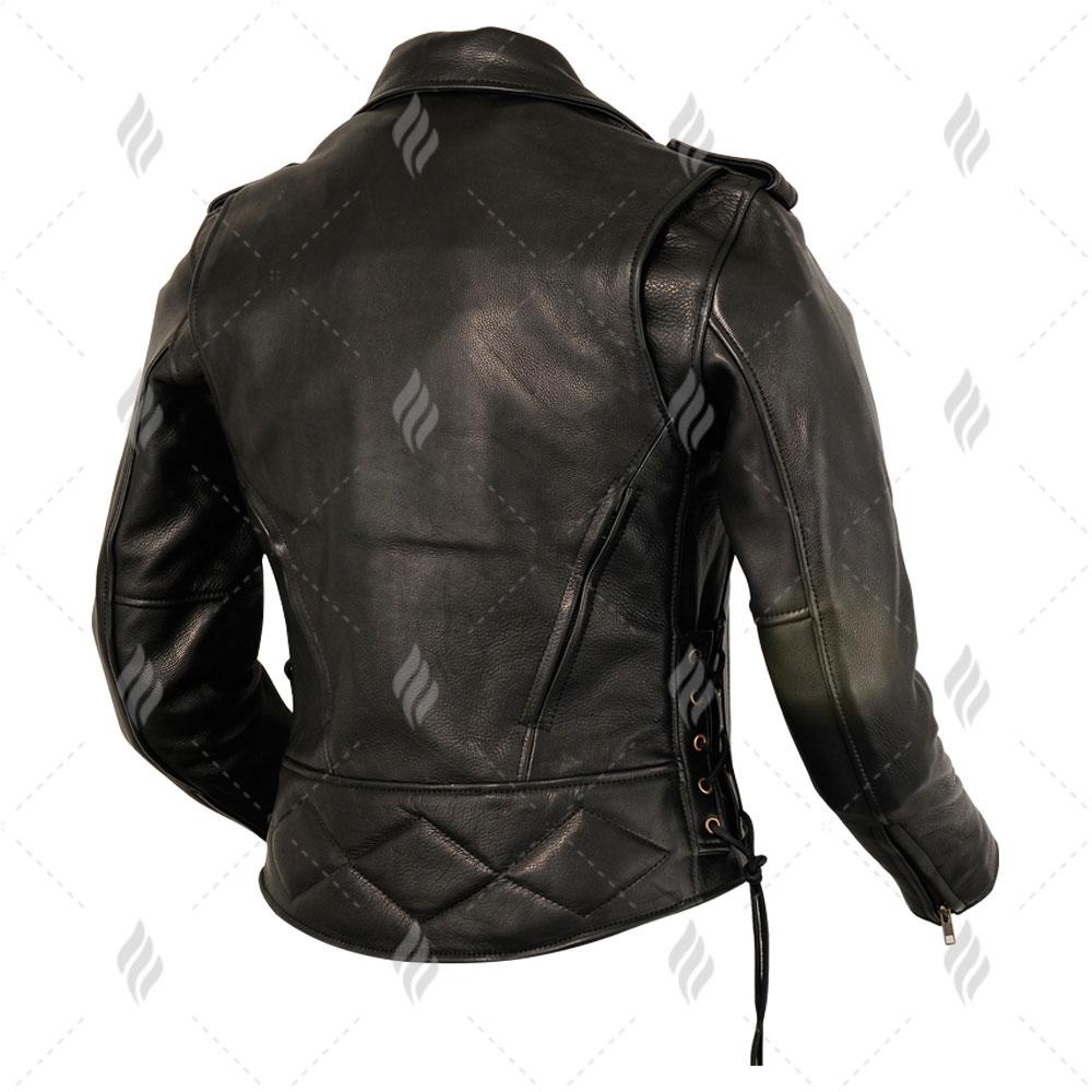 Latest Classic Motorcycle Genuine Leather Jackets | Unique Design Hot Sale Black Leather Jacket